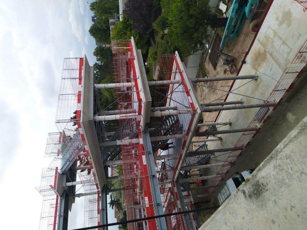 Acoba Assistance maîtrise d'ouvrage : SRIA / Université Bordeaux - Tranche 3 - Escalier 1