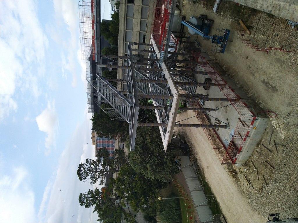 Acoba Assistance maîtrise d'ouvrage : SRIA / Université Bordeaux - Tranche 3 - Escalier 2
