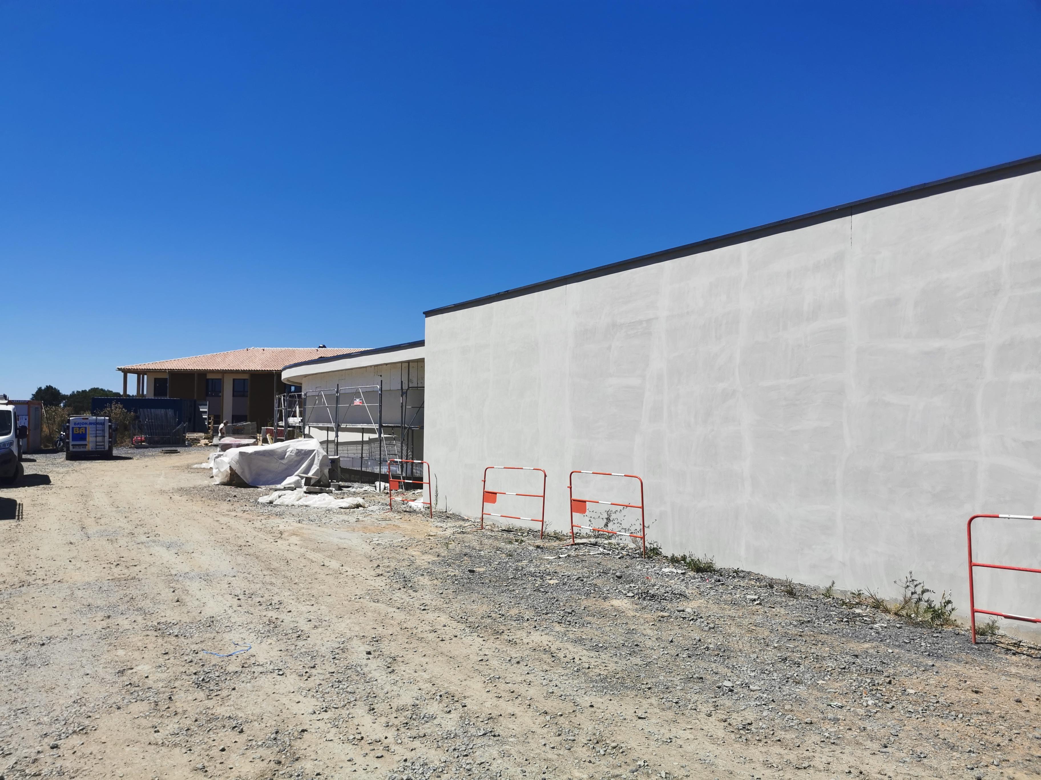 Acoba Assistance maîtrise d'ouvrage : Les travaux du nouvel EHPAD de Castelnau-Rivière-Basse touchent à leur fin - 3