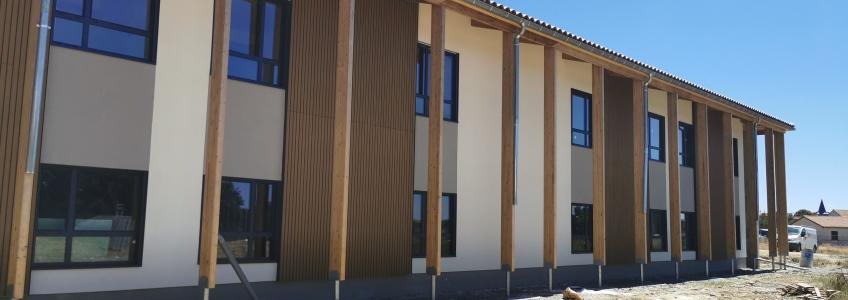 Acoba Assistance maîtrise d'ouvrage : Les travaux du nouvel EHPAD de Castelnau-Rivière-Basse touchent à leur fin