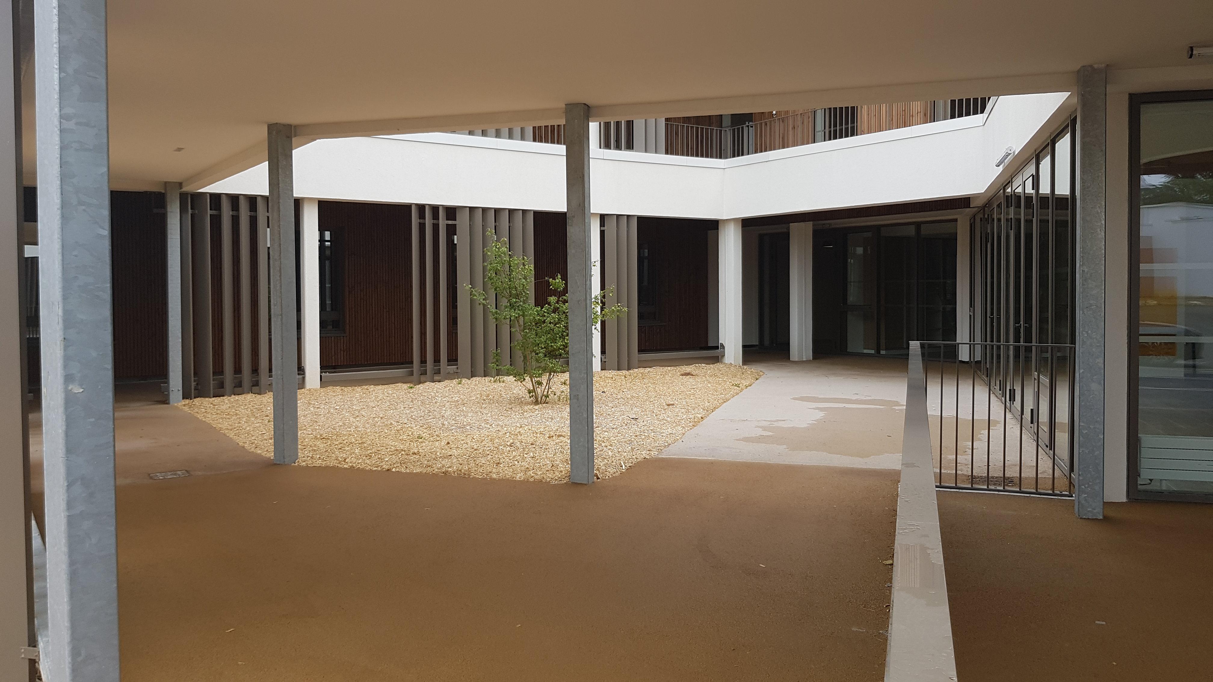 Acoba Assistance maîtrise d'ouvrage : EHPAD Les Hauts de Plaisance de BENET - Réception de la villa Beneto - 2