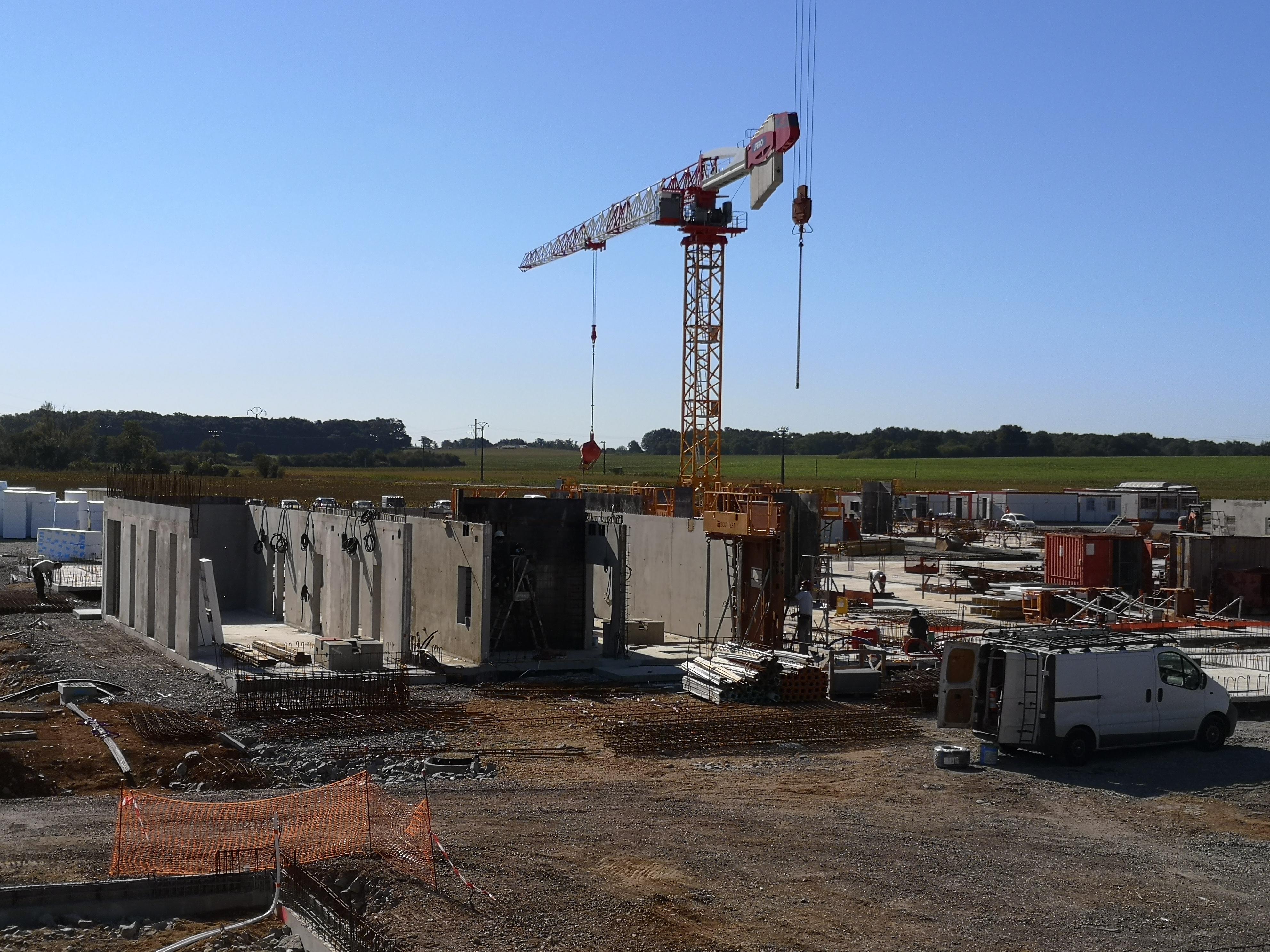 Acoba - Construction du 35ème collège du département de la Vienne à Poitiers - 1