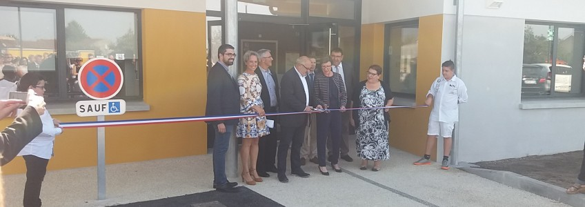 Acoba : Inauguration de l'ITEP-SESSAD de Montendre