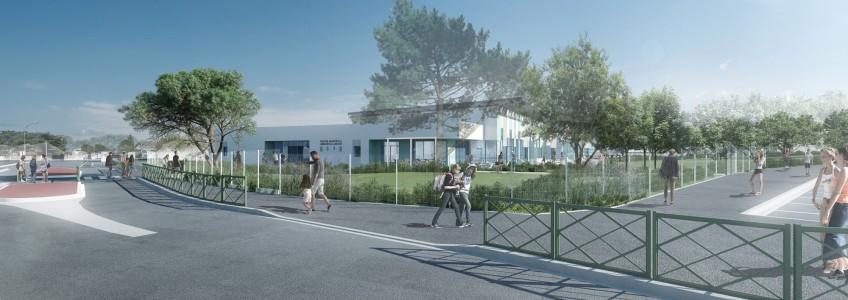 Acoba Assistance maîtrise d'ouvrage : reconstruction d'une piscine à Ambarès-et-Lagrave-2