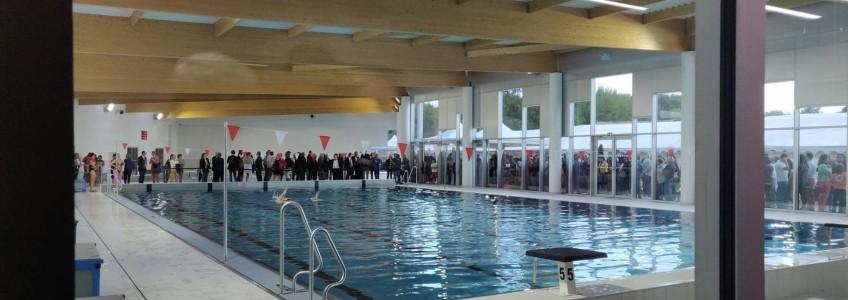 Acoba Assistance maîtrise d'ouvrage : Inauguration de la piscine Alain Bernard d'Ambarès-et-Lagrave