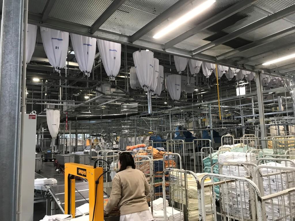 Acoba Assistance maîtrise d'ouvrage : Mise en service de la blanchisserie du GCS SIH 47 à Agen - 1