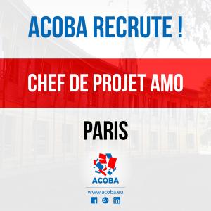 ACOBA Assistance maîtrise d'ouvrage : Recrutement d'un chef de projet à Paris