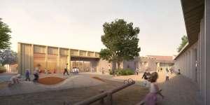 Acoba Assistance maîtrise d'ouvrage : Modernisation pôle éducatif - Reconstruction maternelle à Rouvres en Plaine (21) – Lauréat concours de Maîtrise d'Œuvre