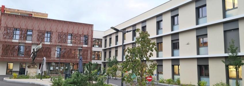 Acoba Assistance maîtrise d'ouvrage : Le chantier de l'EHPAD de Saint-André-de-Cubzac touche à sa fin