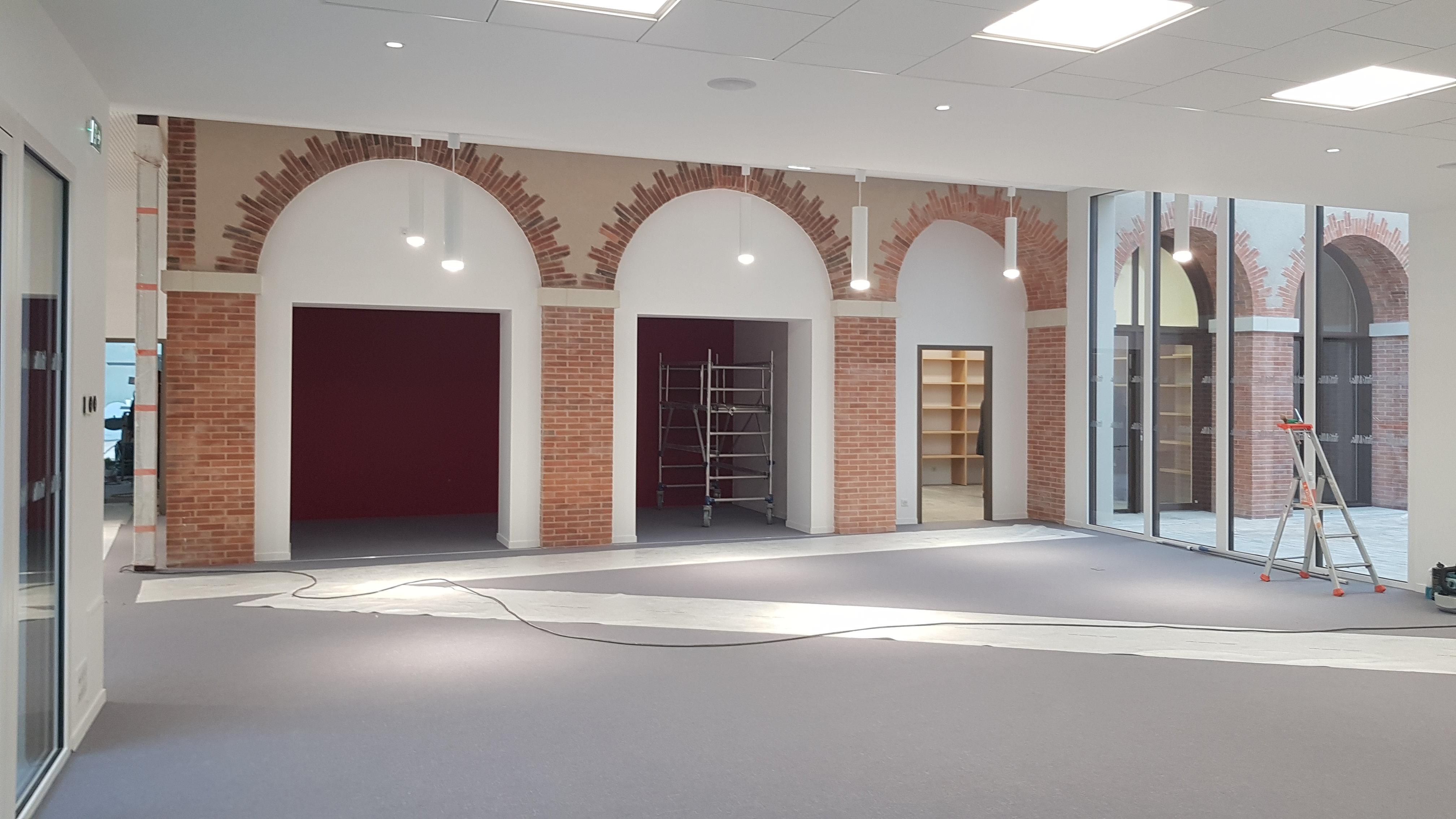 Acoba Assistance maîtrise d'ouvrage : Avancée des travaux du Centre culturel Lys-Haut-Layon - 1