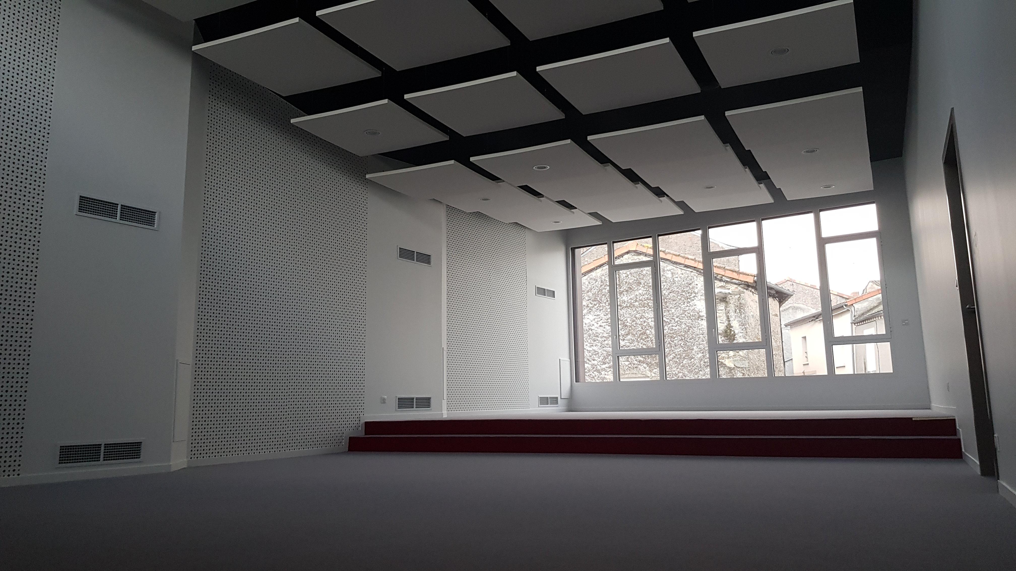 Acoba Assistance maîtrise d'ouvrage : Avancée des travaux du Centre culturel Lys-Haut-Layon - 2
