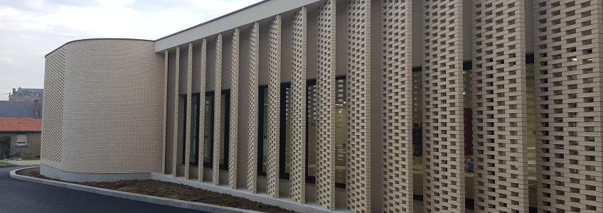 Acoba Assistance maîtrise d'ouvrage : Avancée des travaux du Centre culturel Lys-Haut-Layon