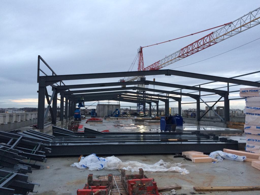 Acoba Assistance maîtrise d'ouvrage : Recherche – Construction d'un nouveau bâtiment de recherche pour l'Université de Bordeaux. Fin de gros œuvre - 1