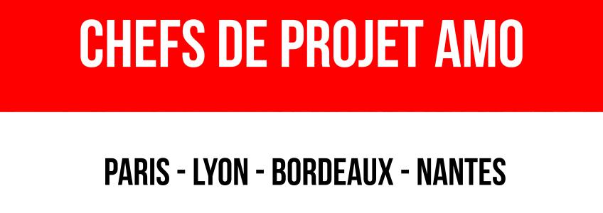ACOBA Assistance maîtrise d'ouvrage : Recrutement d'un chef de projet AMO - Bordeaux Lyon Nantes Paris