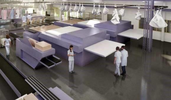Acoba Assistance Maîtrise d'Ouvrage - Services Inter hospitaliers d'Armor Saint-Brieuc - Reconstruction de la blanchisserie - 1