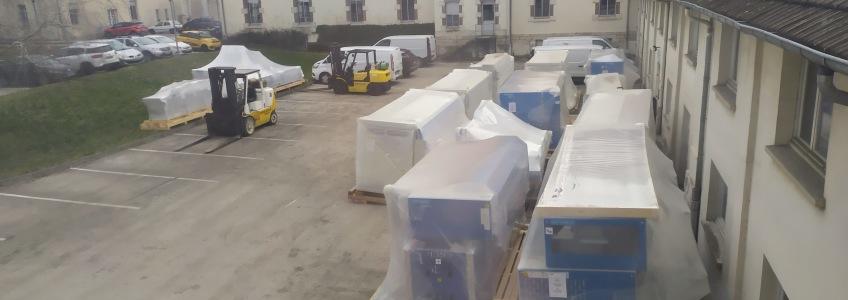 Acoba Assistance Maîtrise d'Ouvrage – Renouvellement des matériels et travaux associés du GCS Blanchisserie Inter Hospitalière du Jura (39)
