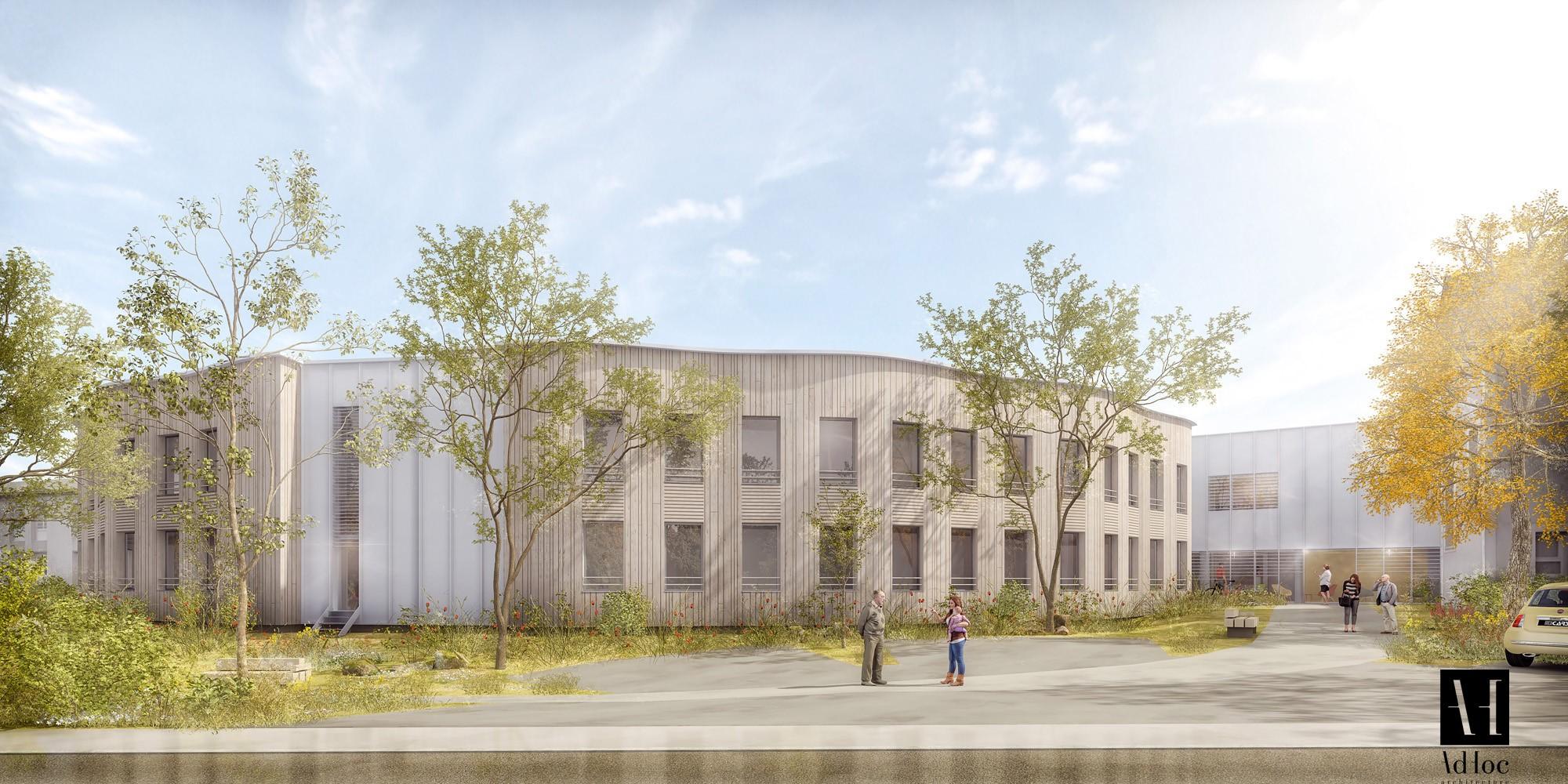 Acoba Assistance Maîtrise d'Ouvrage - Restructuration et extension de l'établissement (156 lits) « Résidence Le Lac » à ARGENTON LES VALLEES (79)