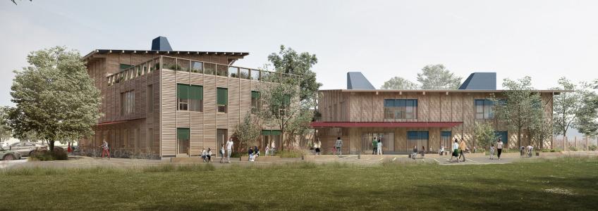 Acoba - Assistance à Maîtrise d'Ouvrage : Création du 5e groupe scolaire de Bruges (Gironde)