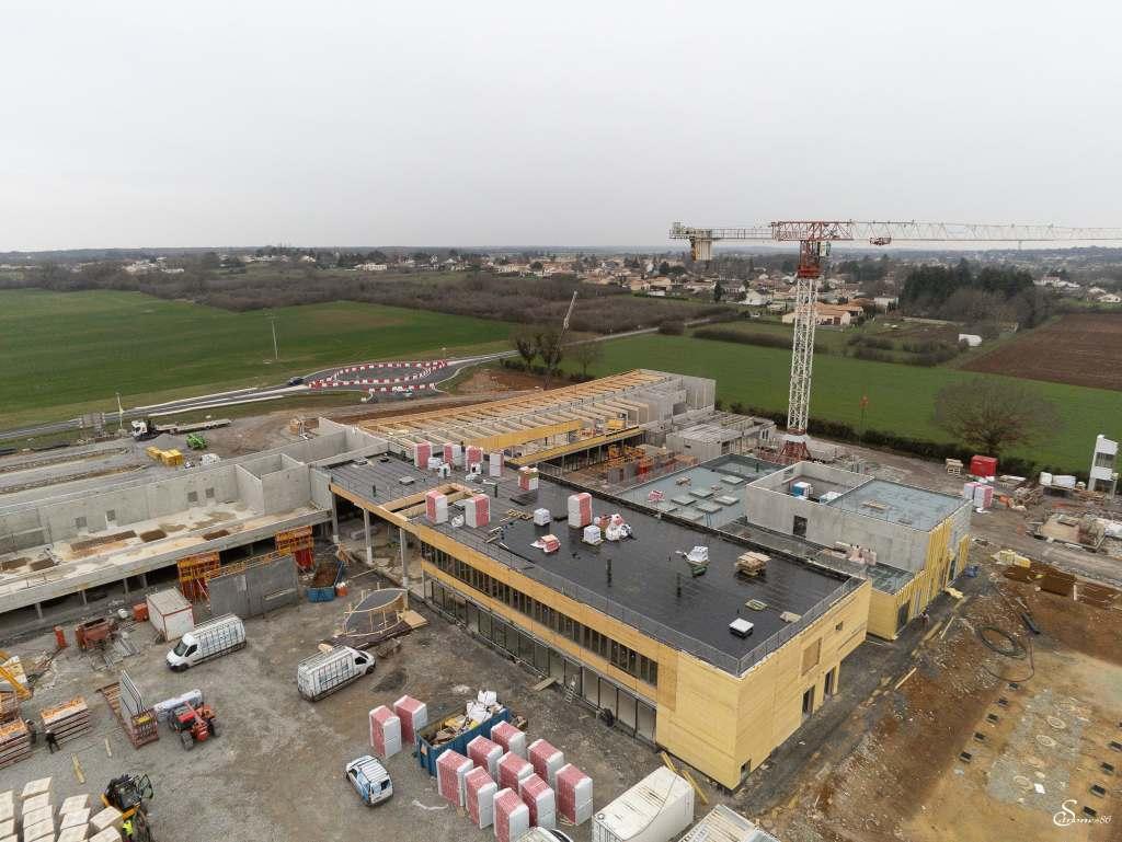 Acoba - Suite des travaux du 35ème collège du Conseil Départemental de la Vienne - 2