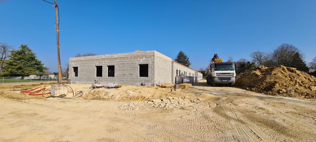 Acoba Assistance maîtrise d'ouvrage : Centre hospitalier de Jonzac – Construction de deux bâtiments psychiatriques - 2