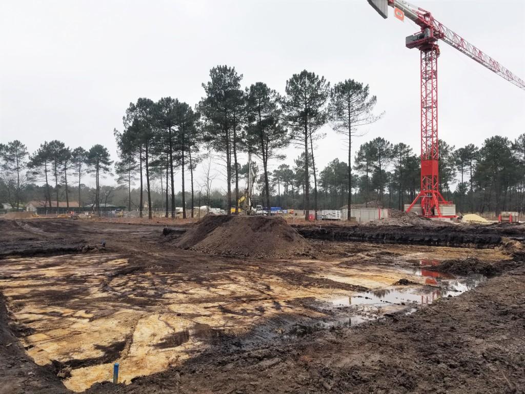 Acoba - Assistance à Maîtrise d'Ouvrage : Construction du nouveau collège du Pian Médoc - Travaux